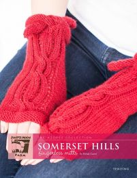Tenzing - Somerset Hills Fingerless Mitts Pattern