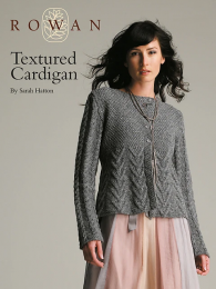 Textured Cardigan - Free Pattern on Rowan Website