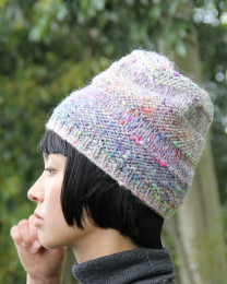 Textured Stripes Hat