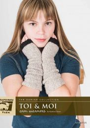 Toi and Moi Armwarmers- Free Download with Stratus Purchase of Four or More Skeins