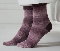 Regia Premium Silk - Two-Colored Socks - FREE PATTERN LINK TO DOWNLOAD IN DESCRIPTION (No Need to add to Cart)