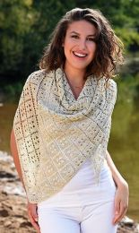 Venetia - A Juniper Moon Pollock Pattern - FREE WITH PURCHASES OF 2 SKEINS OF Pollock (PDF File)