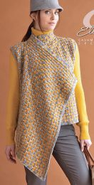 Leonine Vest  - A Cashmereno Sport Pattern - FREE WITH PURCHASES OF 7 SKEINS OF CASHMERENO SPORT