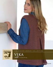 Vika Vest - A Juniper Moon Stargazer Pattern - FREE WITH PURCHASES OF 4 OR MORE SKEINS OF Stargazer (PDF File)