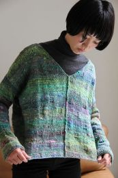 V-Neck Pullover (Free Download with Noro Kotori Purchase of 5 or more skeins)