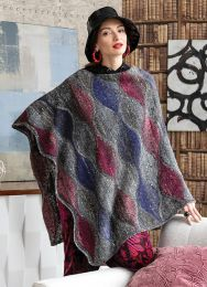 Wave Pattern Poncho