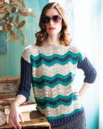 Wavy Stripes Pullover