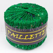 Knitting Fever Paillette - Green (Color #04)