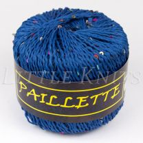 Knitting Fever Paillette - Navy (Color #06)