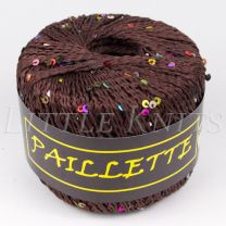 Knitting Fever Paillette - Brown (Color #08)