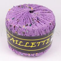 Knitting Fever Paillette - Lilac (Color #11)