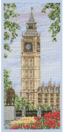 Anchor Counted Cross Stitch Kit - Westminster Clock
