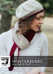 Winterberry Kerchief - A Juniper Moon Stargazer Pattern - FREE WITH PURCHASES OF 3 OR MORE SKEINS OF Stargazer (PDF File)