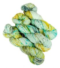 Little Knits Bergamo Splatter - Paririe Aqua (Color #29A)