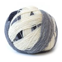 Zauberball Sock - Stormy Skies (Color #1508)