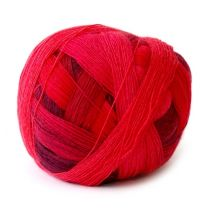 Zauberball Sock - Cranberry Blend (Color #1963)