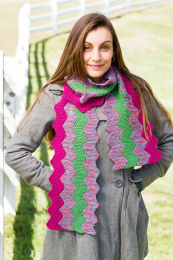 ZigZag Modular Cowl & Scarf - (Free Download with a Findley DK purchase of 3 or more skeins)