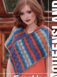 Lily Poncho - FREE with Purchases of 3 or More Skeins of Sunshine Coast/Please add to cart for a PDF copy