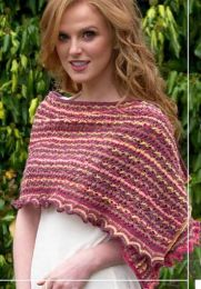 Zoe Wrap - FREE with Purchases of 3 or More Skeins of Sunshine Coast/Please add to cart for a PDF copy
